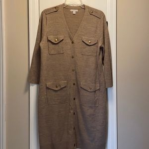 Lt Brown fall/winter dress